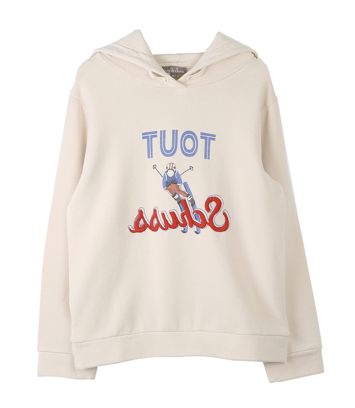 Embroidered Hoodie, 4 y / 104
