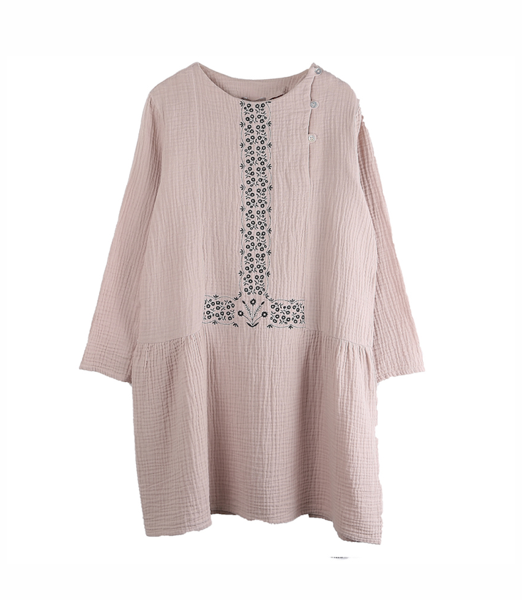 Embroidered Dress 10y / 140