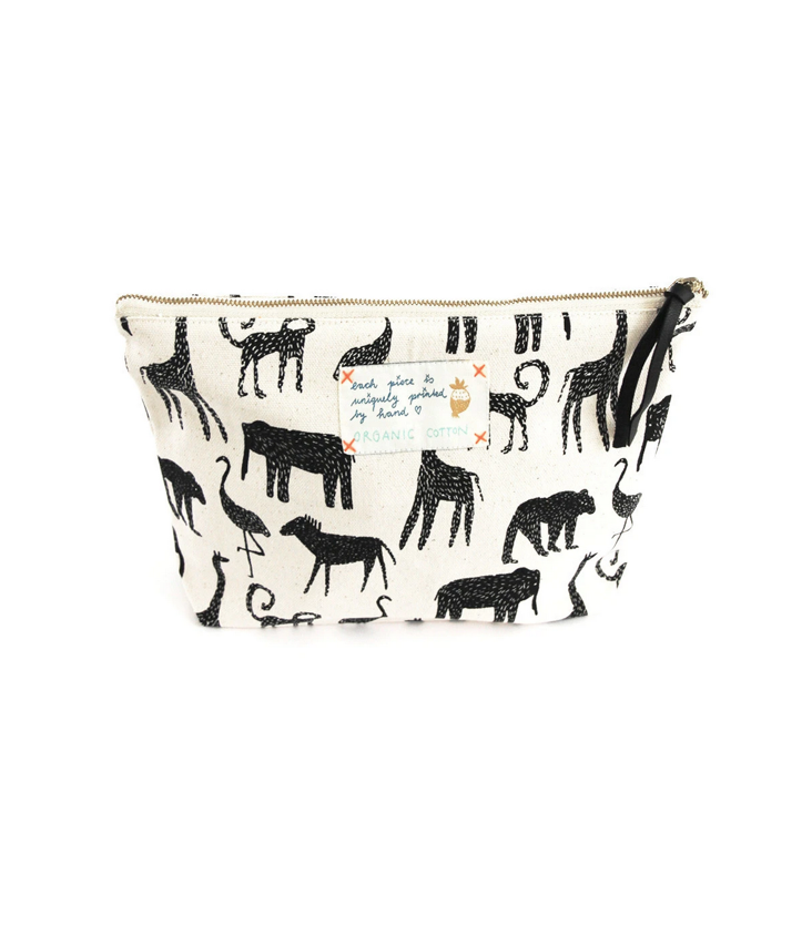 Pouch Toilet Bag Zoo