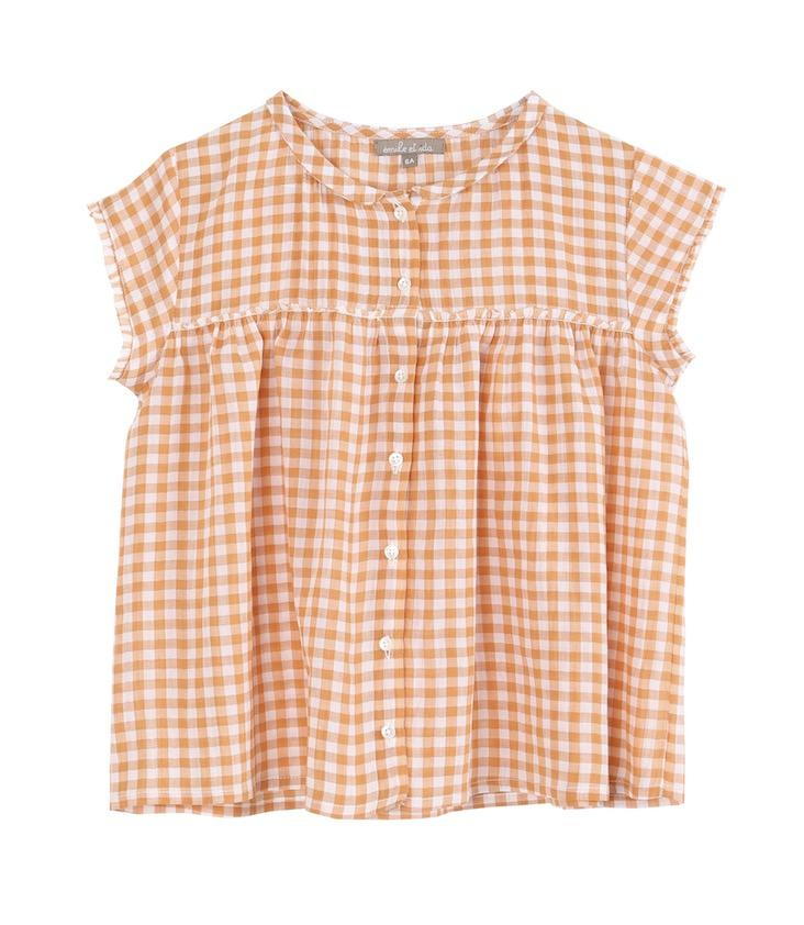 Blouse Gingham 2y / 92
