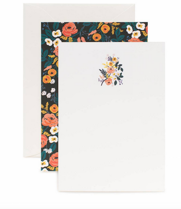 Stationery Set Flowers - 0