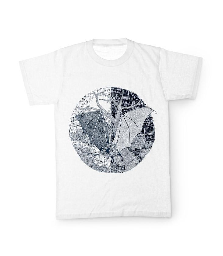 Charity T-Shirt Fledermaus