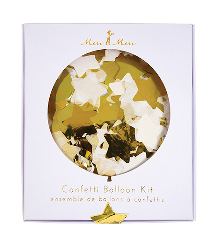 Confetti Balloon Kit Stars