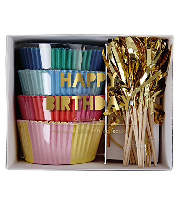 Cupcake Kit Happy Birthday