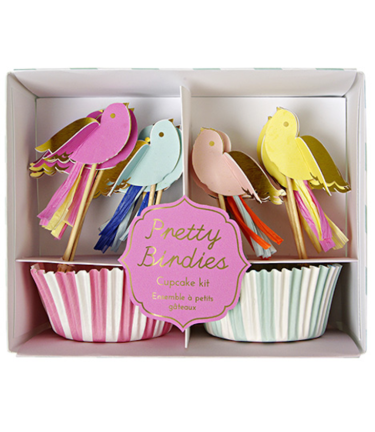 Cupcake Kit Pretty Birds