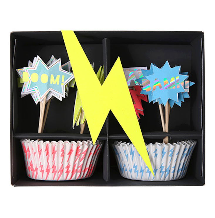 Cupcake Kit Superhero