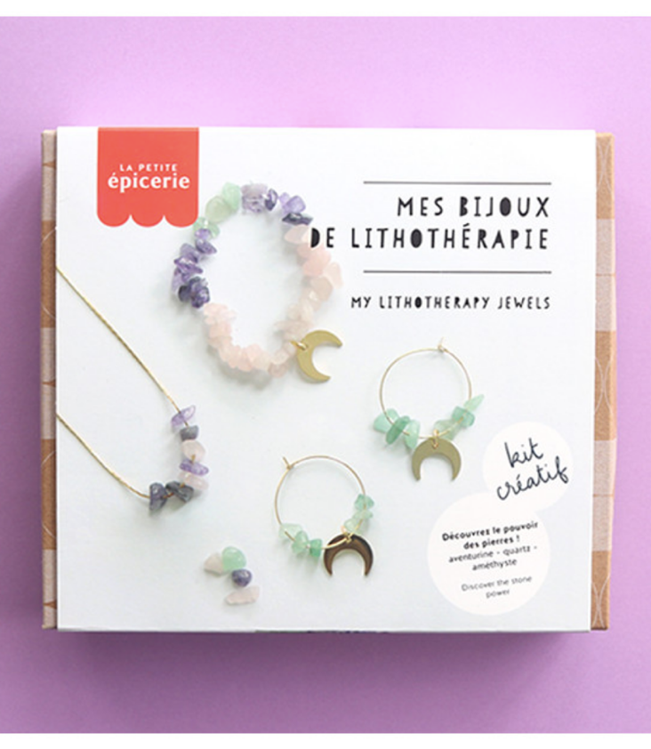 DIY Jewelry Set Moon