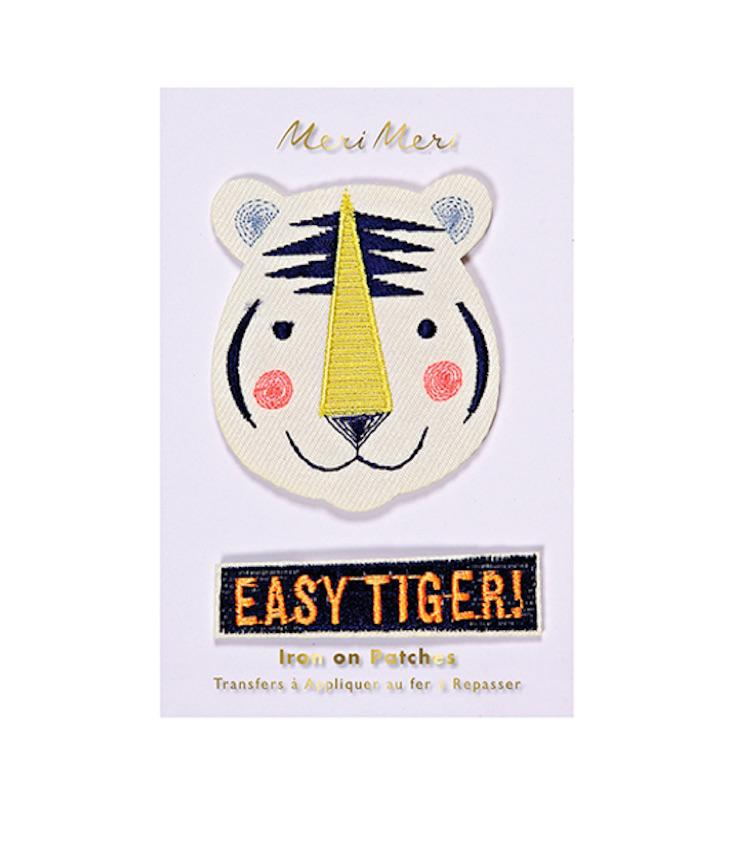 Easy Tiger - Iron on patches