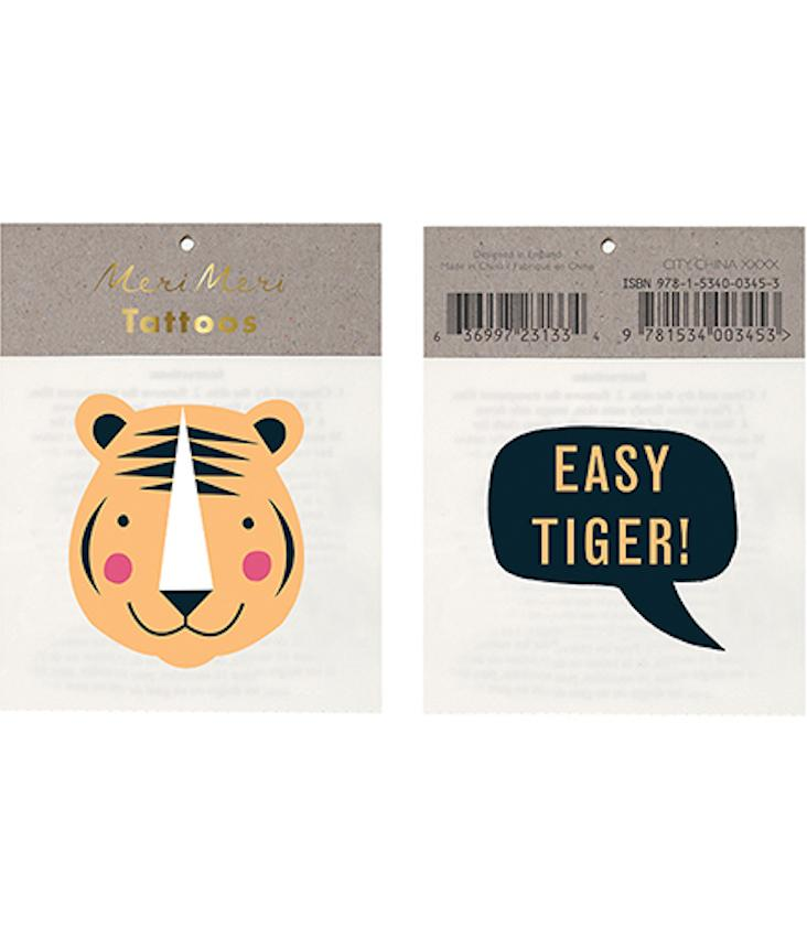 Easy Tiger Tattoo