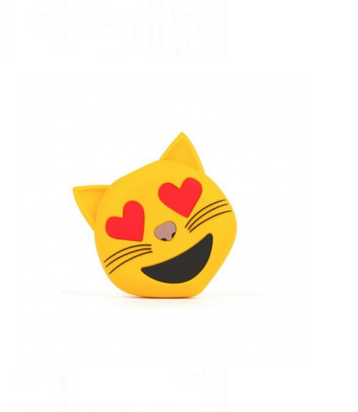 Emoji Powerbank Love Cat