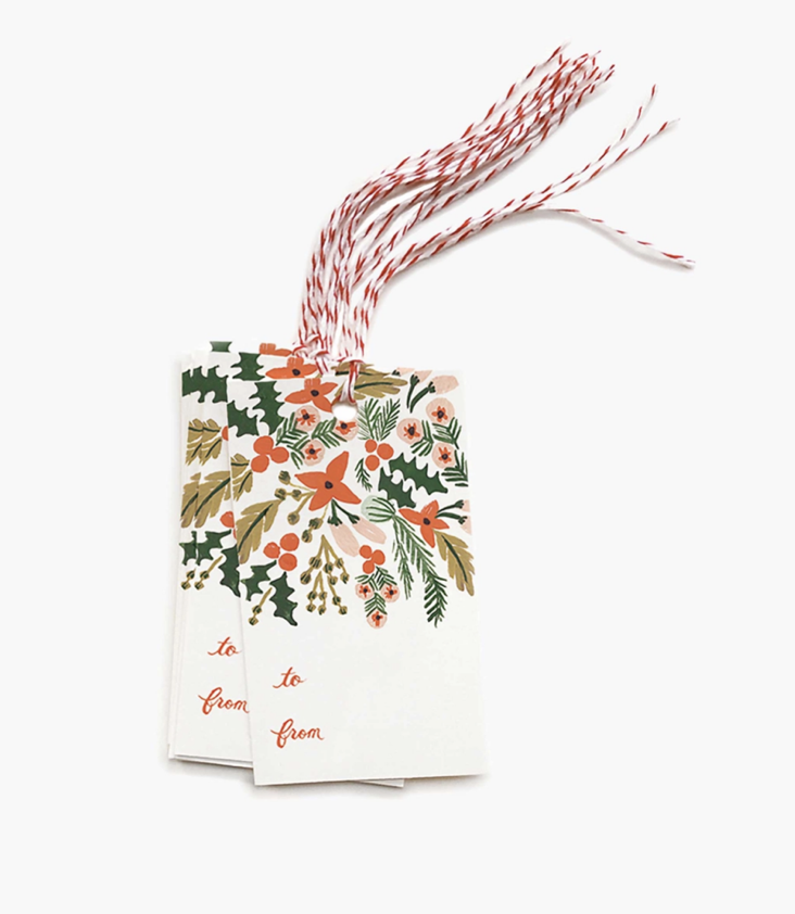 Gift Tags Berries