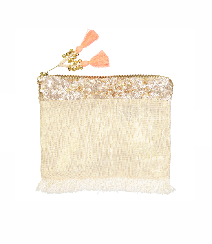 Golden Clutch Tasche