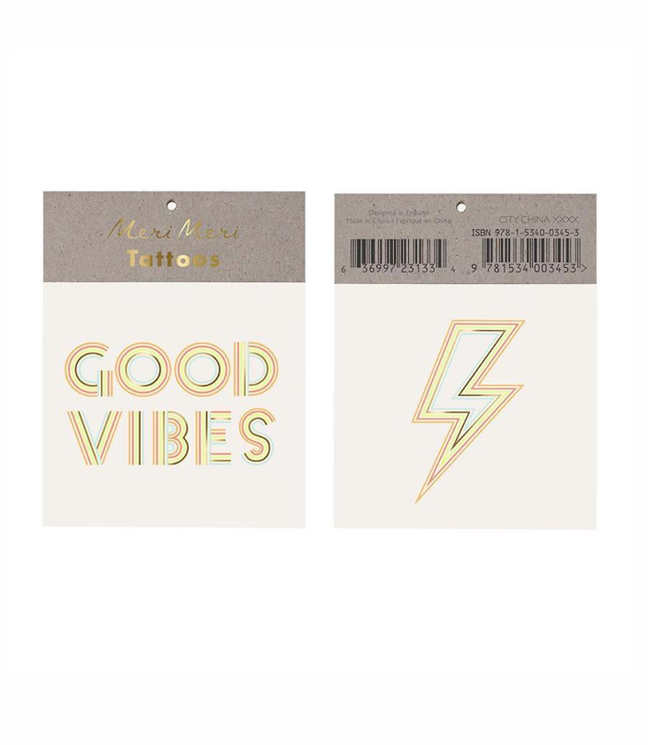 Good Vibes Tattoo