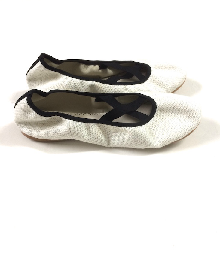 Grace Ballerinas With Elastic