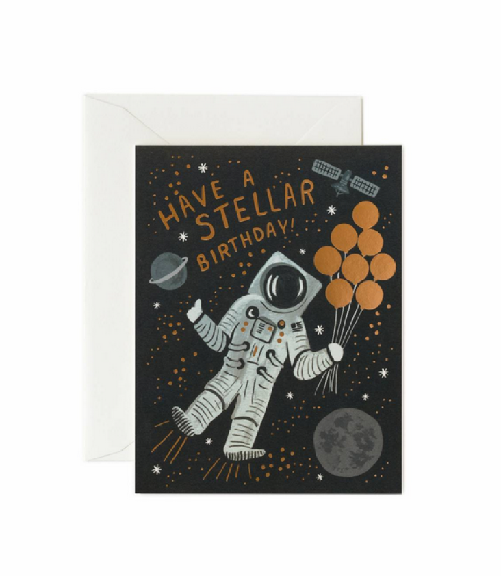 Card Astronaut