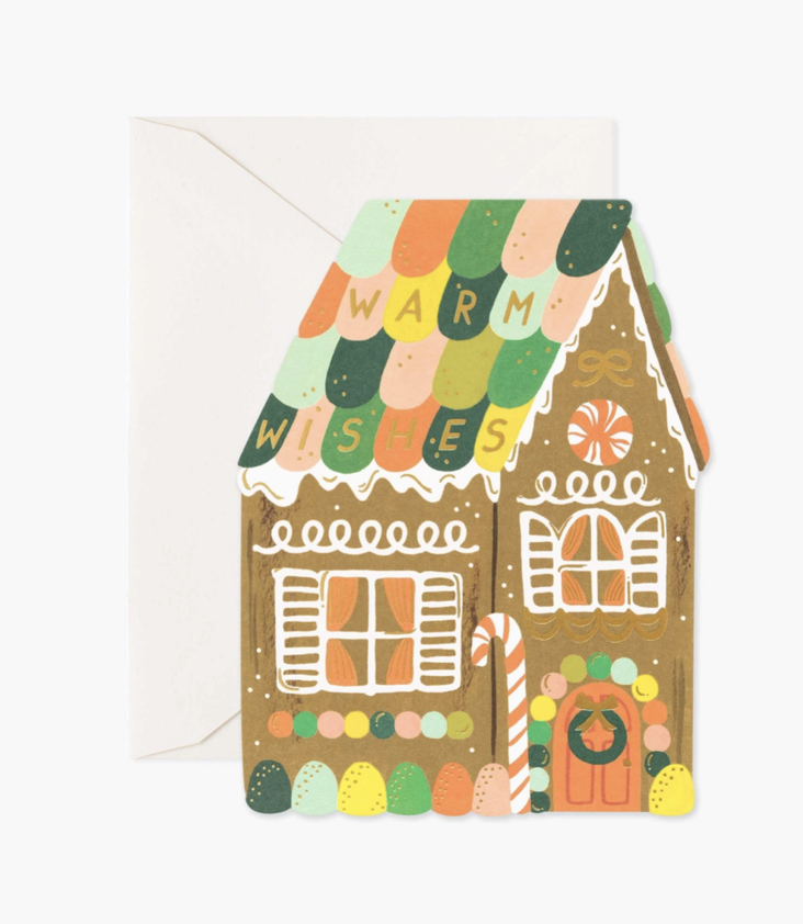 Card Gingerbread House