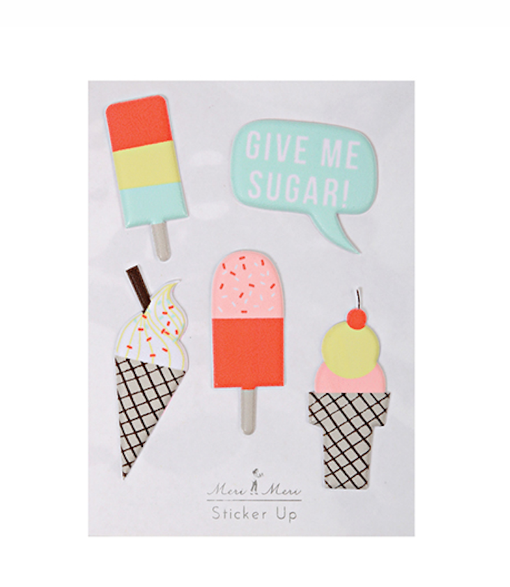 Ice Cream Stickers