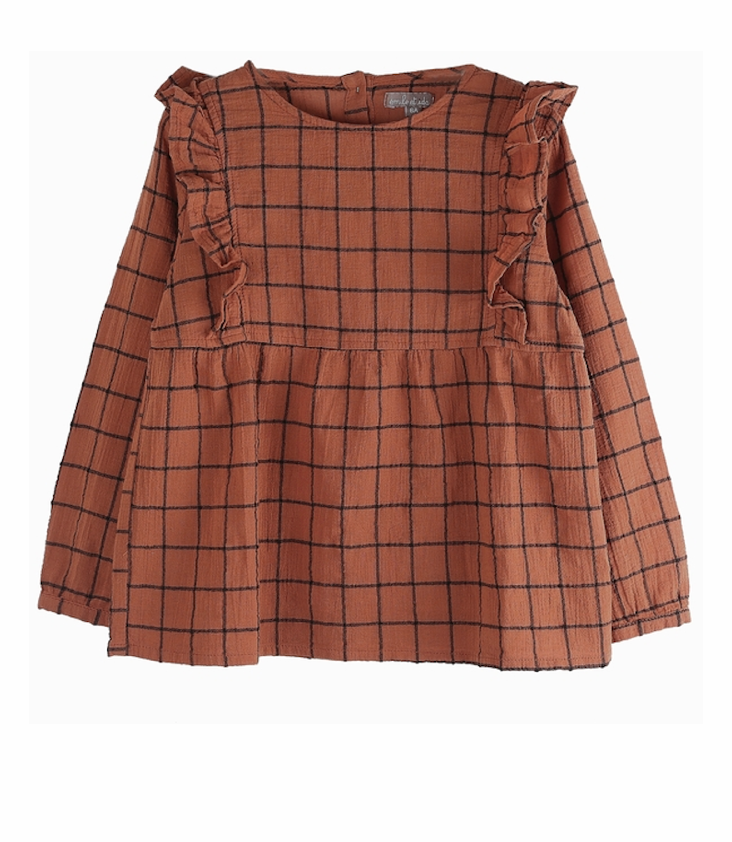 Checkered Blouse 3y / 98