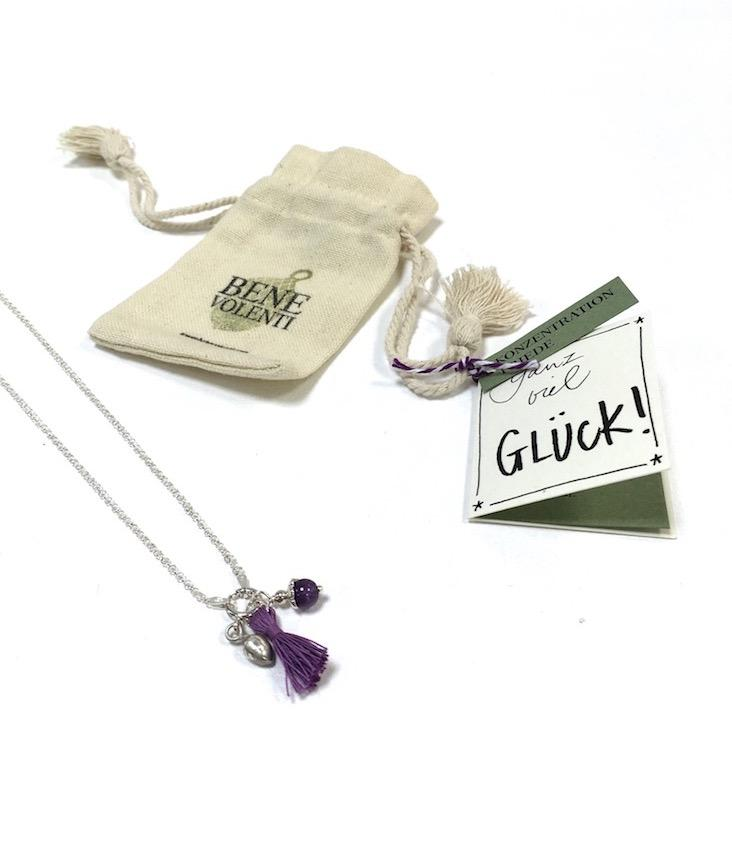 Childern Necklace Amethyst