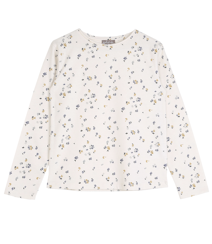 Long-sleeved T-Shirt Flowers
