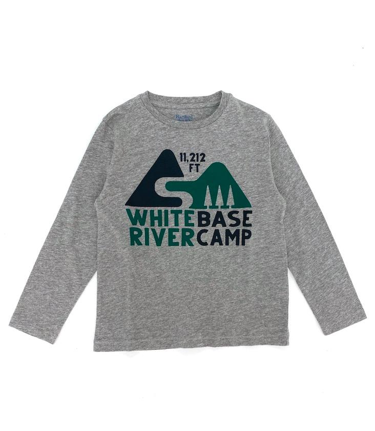 Longsleeve T-Shirt White River