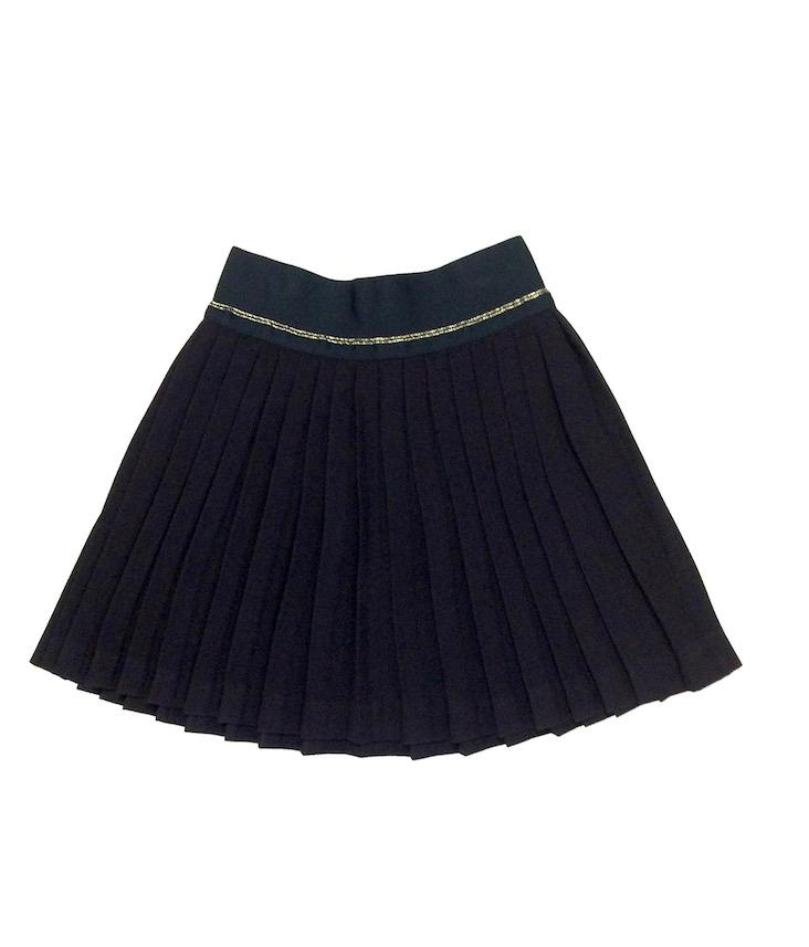 Ley pleated skirt