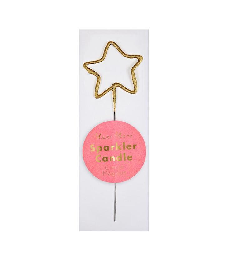 Mini Sparkler Candle Star