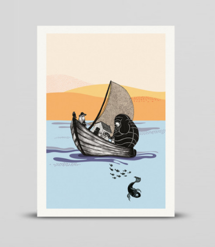 Miniprint The Boat