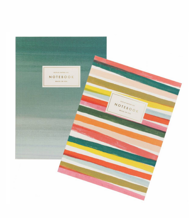 Notebook Set of 2 Stripes