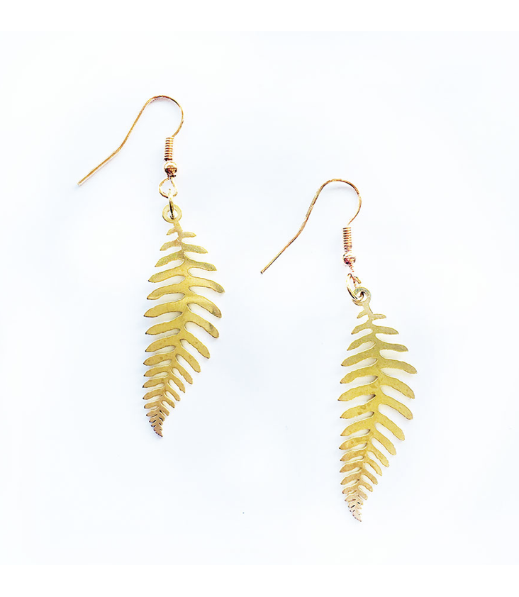Earrings Fern