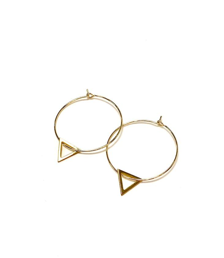 Earrings Triangel