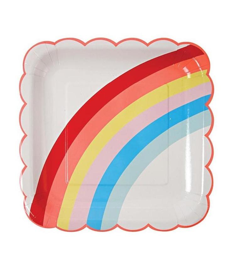 Paper Plate Rainbow