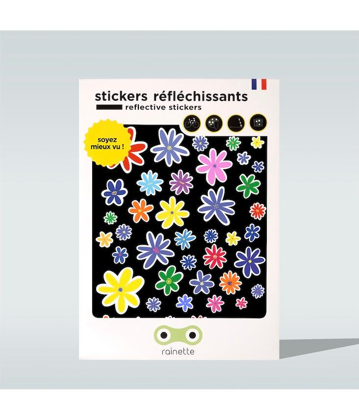 Reflective Stickers Flowers