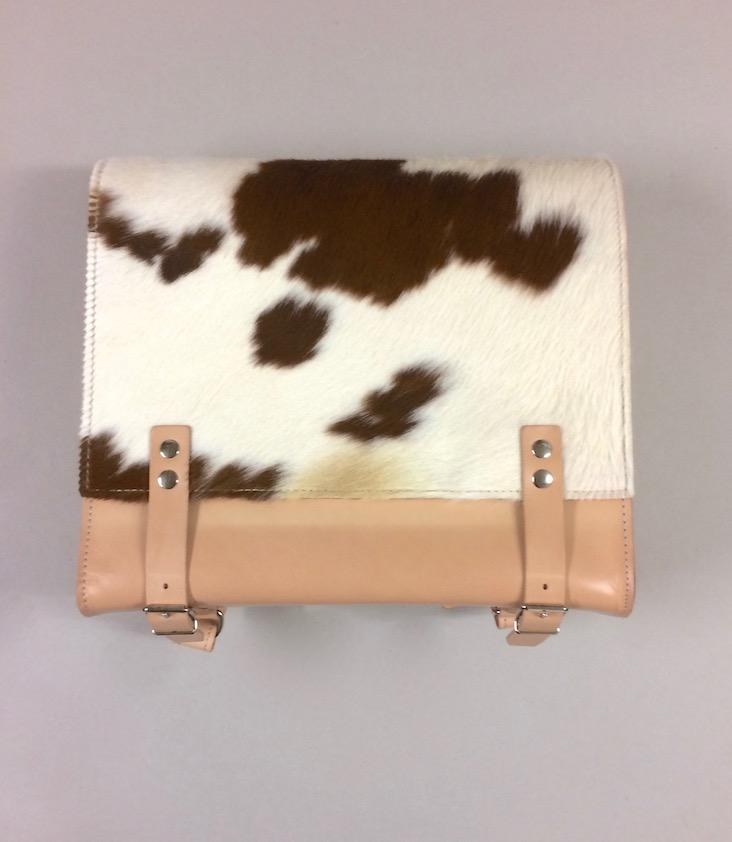 School Bag G! With Cowhide