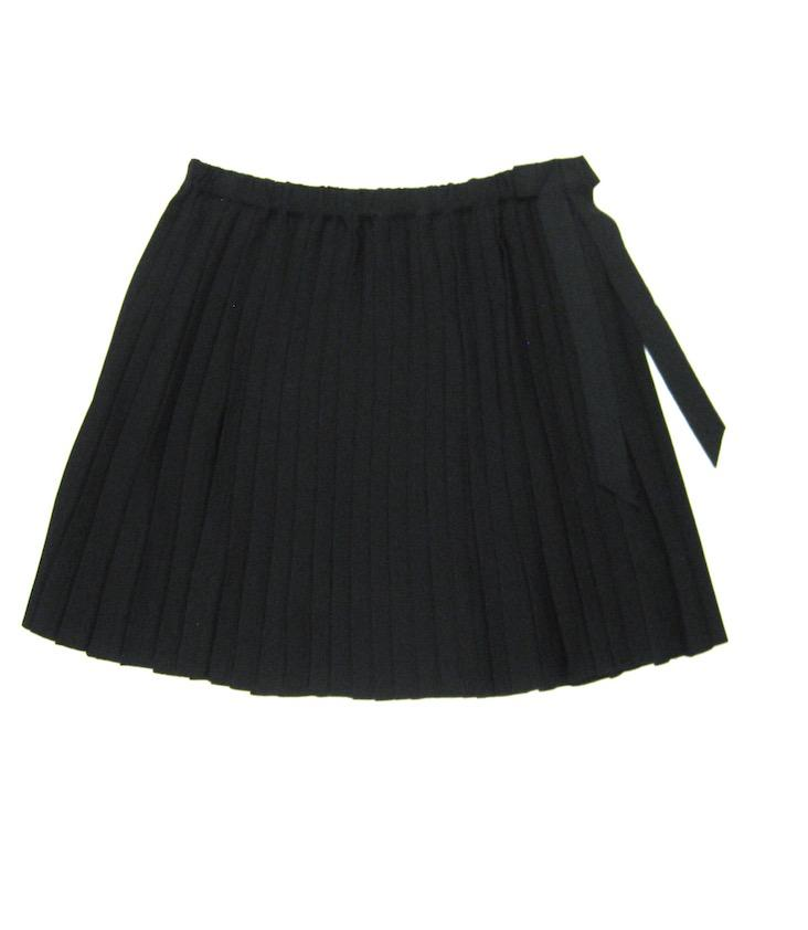 Sofia pleated skirt