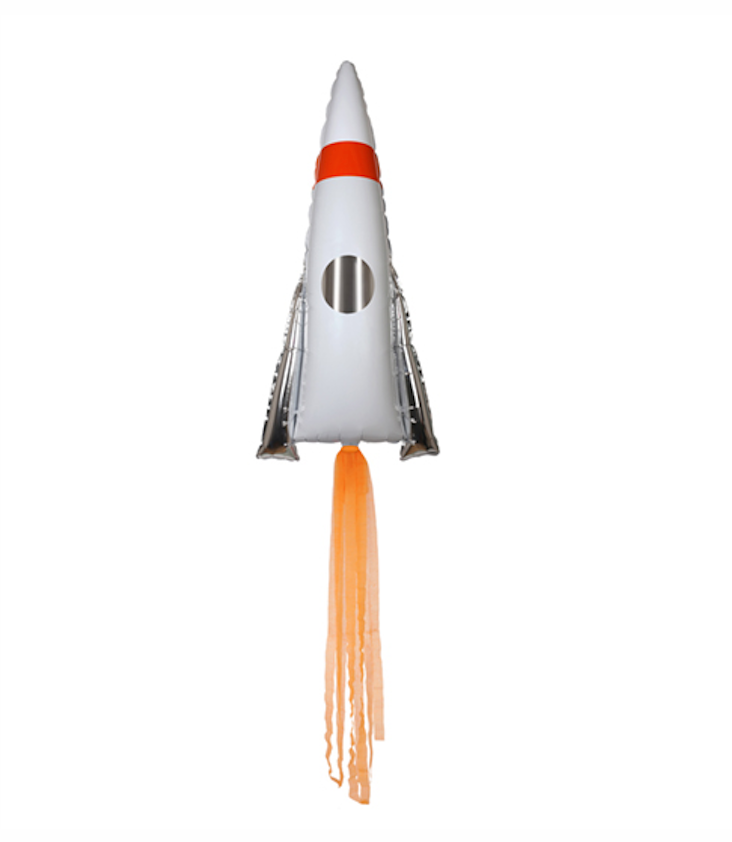 Space Rocket Ballon