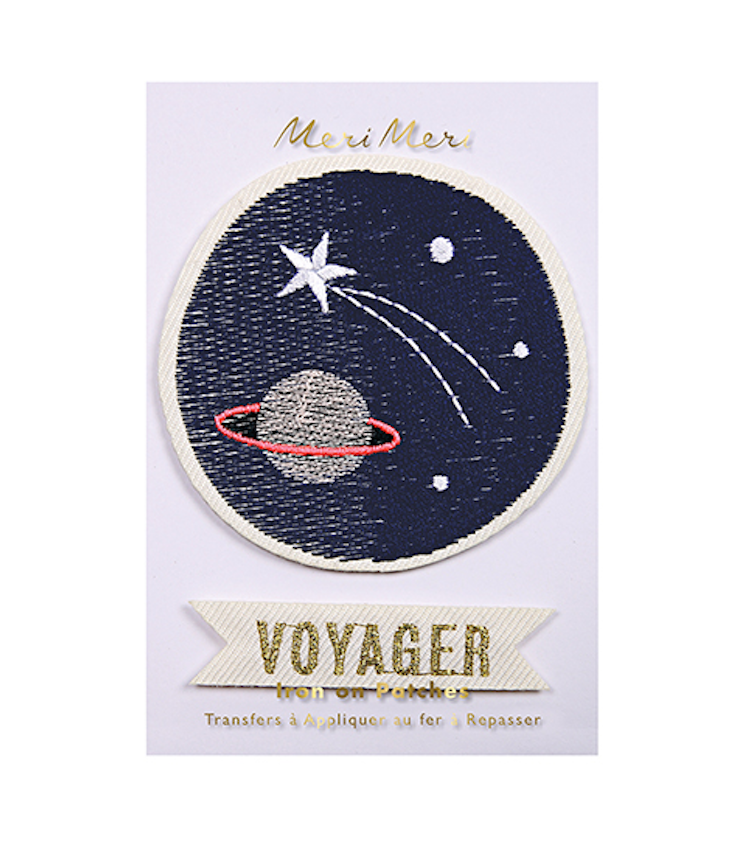 Space Voyager - Iron on patches