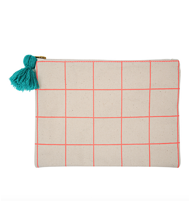 Pouch Neon Coral