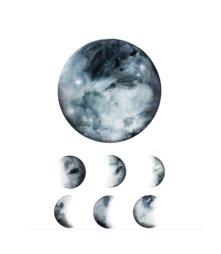 Tattoo Moon Phases