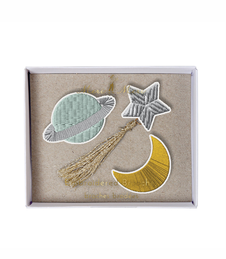 Space Brooches