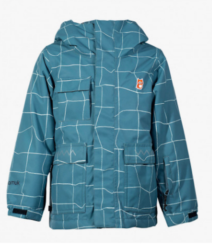 Winter Snow Jacket Grid